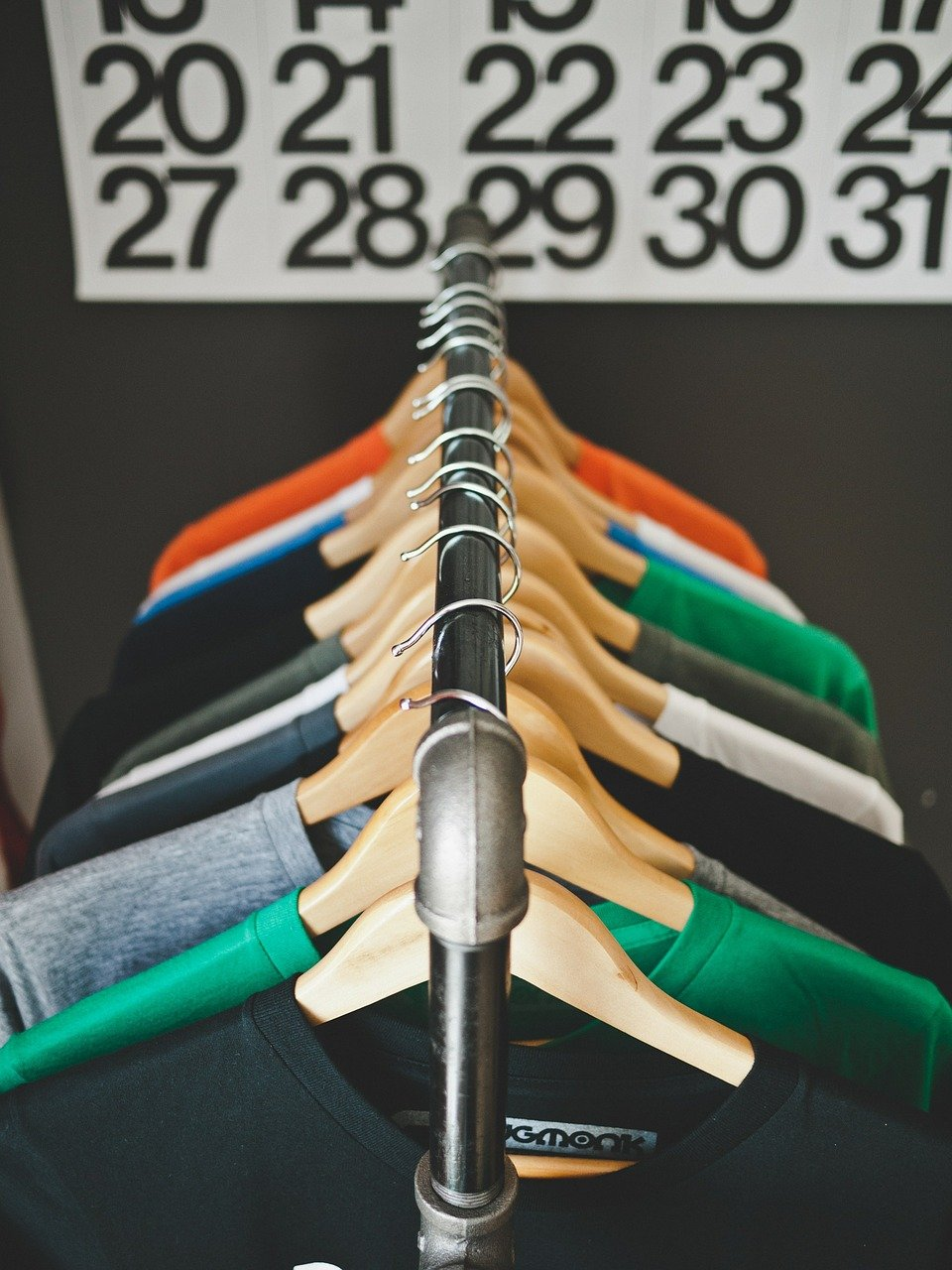 hangers, clothes, clothing